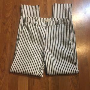H&M Blue Stripe Pants.  Sz 6